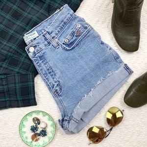 Harley Davidson Vintage Jean Shorts